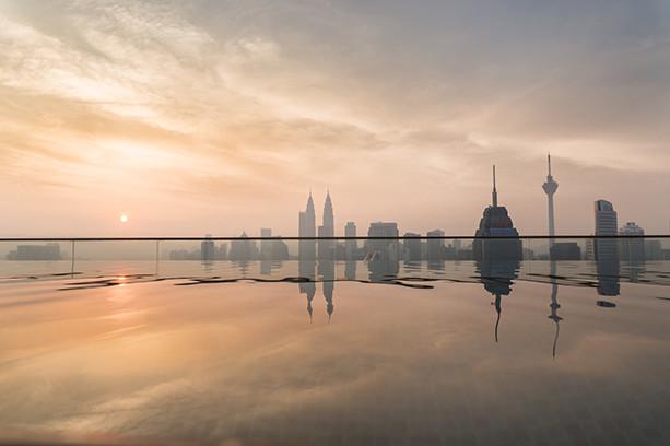 Kuala Lumpur Rooftop Pool